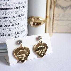 Tiffany & Co. earrings golden